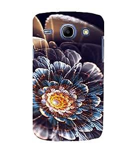 PrintVisa Flower Design 3D Hard Polycarbonate Designer Back Case Cover for Samsung Galaxy Core i8262
