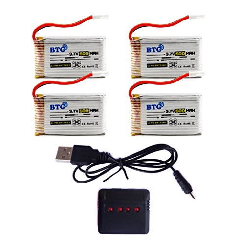 BTG-37V-600mAh-Battery-X4-Battery-Charger-for-Syma-X5C-X5SW-X5C-1-X5SC-X5SC-1-CX-30W-CX-31-M68R-Drone-Quadcopter