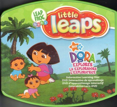 Leap Frog Baby Little Leaps Library Nick Jr Dora the Explorer - 1