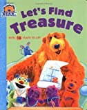 img - for Let's Find Treasure (Bear in the Big Blue House (Board Books Simon & Shuster)) by Nancy Inteli (2001-02-01) book / textbook / text book