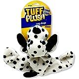 Booda Tuff Plush Rug Dog, Dalmatian