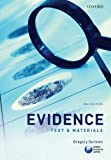 img - for Evidence: Text & Materials by Durston. Gregory ( 2011 ) Paperback book / textbook / text book