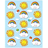 Carson Dellosa Suns and Rainbows Shape Stickers (168024)
