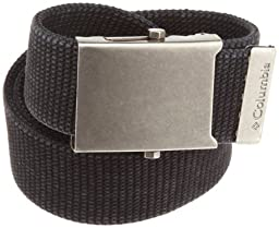 Columbia Columbia Men\'s Military-Style Belt ,Black,Size 42