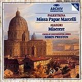 echange, troc  - Palestrina : Missa Papae Marcelli - Allegri : Miserere...