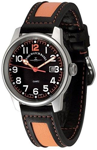 Zeno-Watch Orologio Donna - Classic Pilot Date - 3315Q-matt-a15