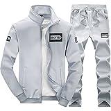 SemiAugust(セミオーガスト)男性用 秋冬 新品 着ごこち抜群 スウェット セット ジャージ ファッションアウトウェア カラーはグレー サイズはL