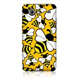 Ecell - HEAD CASE BIG BEE BUGGED LIFE HARD BACK CASE FOR SAMSUNG I9070 GALAXY S ADVANCE