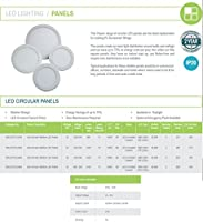 Hispec 24w Circular Slimline LED Panel Light 6400K Daylight Lamp Downlight