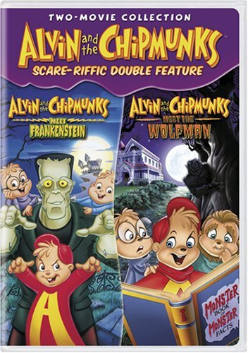 Cover art for  Alvin and the Chipmunks Scare-Riffic Double Feature