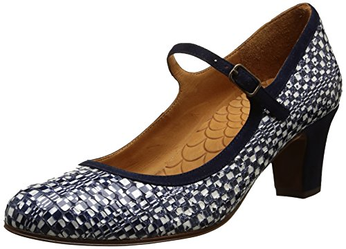 Chie MiharaZulibri - Mary Jane Donna , Blu (Bleu(Busios Navy/Ante Nuit)), 38