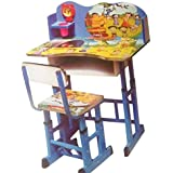 Baby Station Study Table And Chair Set For Kids - Computer Table And Chair Set, Buy Foldable Study Tables (Chota Bhem)
