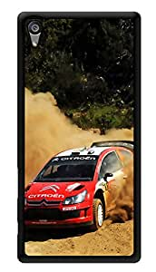 """Humor Gang Dirt Car Madness Printed Designer Mobile Back Cover For """"Sony Xperia Z5"""" (3D, Glossy, Premium Quality Snap On Case)"""
