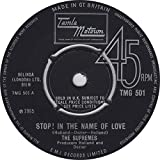 The Supremes The Supremes Stop! In The Name Of Love UK 45 7