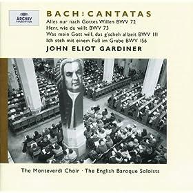 """J.S. Bach: Cantata """"Was mein Gott will, das g'scheh allzeit"""" BWV 111 - 2. Aria: """"Entsetze dich, mein Herze nicht"""""""