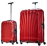 "Samsonite Luggage Black Label Cosmolite 2 Piece Spinner Luggage Set, 32"" and 20"" (One size, Red)"