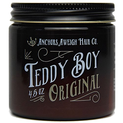 anchors-hair-company-teddy-boy-original-water-based-styling-pomade-45oz-by-anchors-hair-company