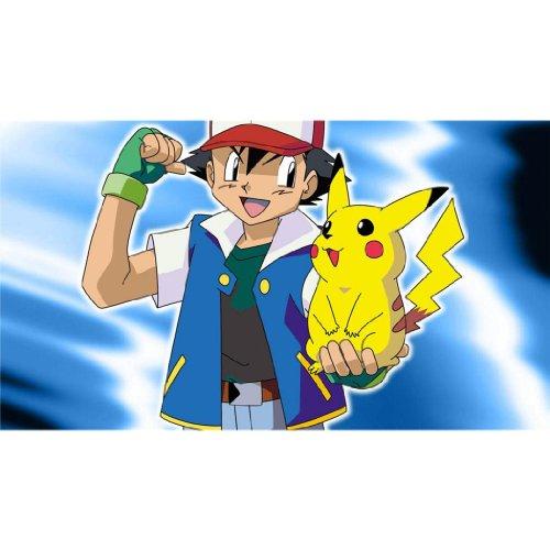 Pikachu-Poster-On-Silk-62cm-x-35cm-25inch-x-14inch-Cartel-de-Seda-D32E23