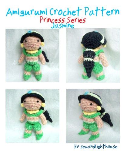 Jasmine Princess Aladdin Amigurumi Crochet Pattern