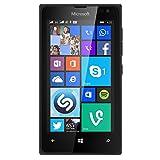 Microsoft Nokia Lumia 435 8GB Unlocked GSM Windows 8.1 Touchscreen Smartphone Black (International version, No Warranty)