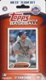 51MfvUWe5qL. SL160  2012 Topps New York Mets Factory Sealed Special Edition 17 Card Team Set; Cards Are Numbered NYM 1 Through NYM 17. Players Included Are David Wright, Jason Bay, Johan Santana, Ike Davis and Others Plus a Stadium Card of Citi Field.