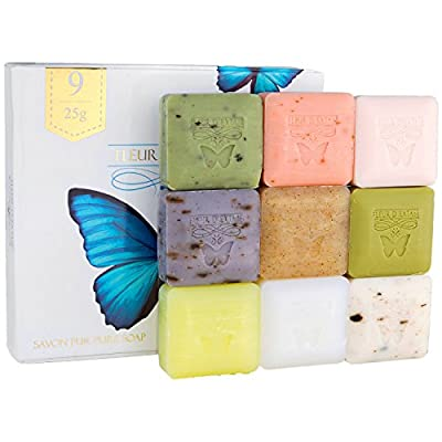 Fleur D' Extase (Ecstacy) Soap Individually Wrapped Bars Of Guest Soaps - All Natural