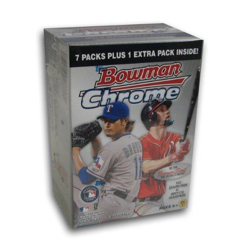 MLB 2012 Bowman Chrome Blasters, Pack of 8