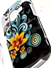ShockWize (TM) Imago Series Samsung Galaxy Discover S730G Galaxy Centura S738C Graphic Floral Design Armor Protector Cover Case (Straight talk