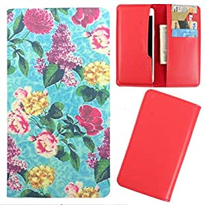 DooDa - For Gionee GPAD G3 PU Leather Designer Fashionable Fancy Case Cover Pouch With Card & Cash Slots & Smooth Inner Velvet