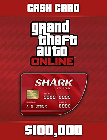Grand Theft Auto V: G Red Shark Cash Card - PS4 [Digital Code]