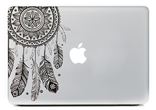 For Sale! iCasso Dream Catcher Removable Vinyl Decal Sticker Skin for Apple Macbook Pro Air Mac 13&q...