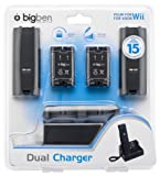 echange, troc Big Ben Charger Stand with Rechargeable Battery Pack - Black (Wii)