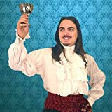 Renaissance Noble's Shirt - WHITE - Medium (Period Clothing)