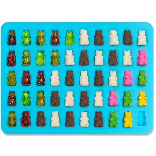 Learn More About Lucentee® Gummy Bears Molds for Hard Candy & Chocolate Making- Silicone Soap a...