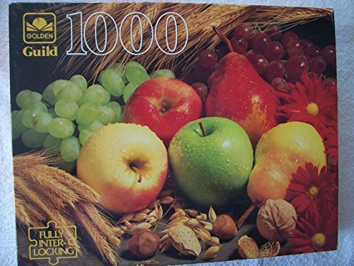 golden-guild-1000-piece-puzzle-bountiful-harvest-by-western-publishing-company