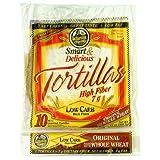 """7"""" La Tortilla Factory Whole Wheat Low Carb Tortillas 13 oz - 10 count(Regular Size) ~ La Tortilla Factory"""