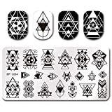 Summer Fruit Nail Art Stamping Template Tropical Punch Pattern Rectangle Image Plate Stamping Polish Needed BP-L054 (Color: BP-L054)