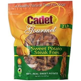 Sweet Potato Steak Fries gourmet dog treats