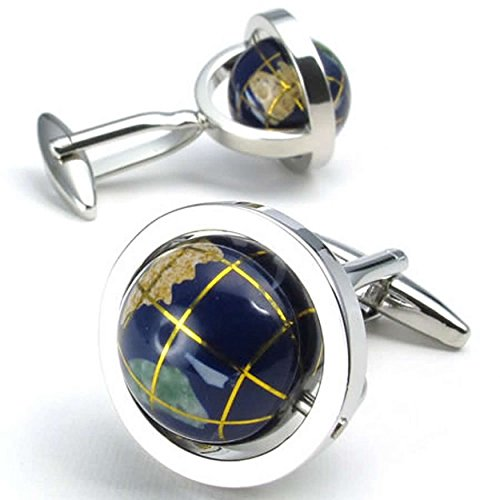 anazoz-chemise-shirt-bouton-de-manchette-homme-argentee-globe-plaque-rhodium-bleu-tellurion-1-paire-