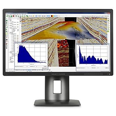HP J2W50A8#ABA Z24s 23.8'' 4K UHD 2160p LED-Backlit LCD Monitor, Black