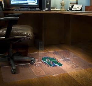 NCAA Florida Gators Gator Logo Foldable Hard Floor Chairmat by ES Robbins