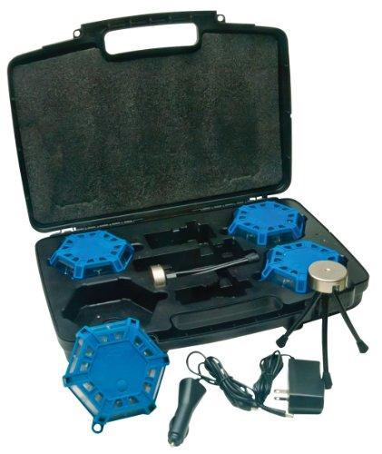 Aervoe 4-Pack Kit Super Led Road Flare (Blue)