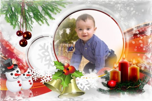 Photoshop Frames for Christmas Christmas Photo Photoshop templates ...