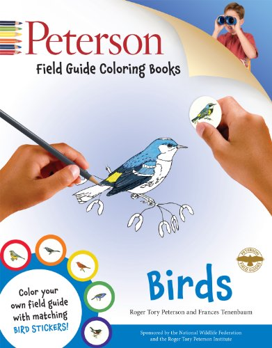 Peterson Field Guide Coloring Books: Birds (Peterson Field Guide Color-In Books) PDF