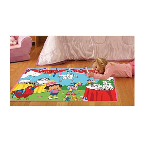 Dora the explorer decor tktb for Dora themed bedroom designs