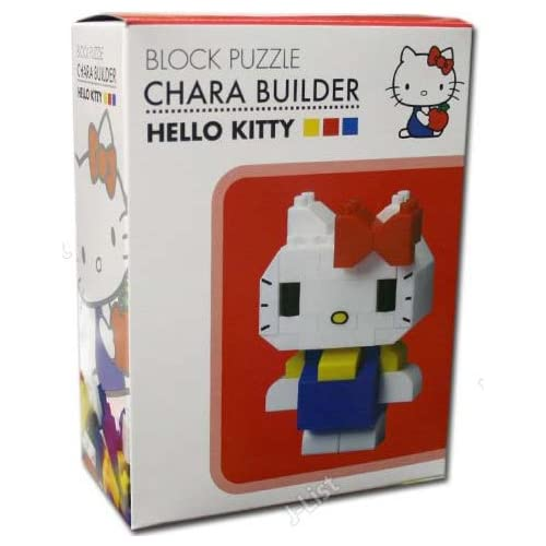 Sanrio HELLO KITTY block puzzle Chara Builder Toys & Games