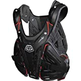 Troy Lee Designs CP 5900 Adult Roost Guard Motocross/Off-Road/Dirt Bike Motorcycle Body Armor - Black / Medium