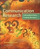 img - for Communication Research: Asking Questions, Finding Answers book / textbook / text book