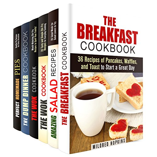 Everyday Recipes Box Set (6 in 1): Over 100 Recipes for Breakfast, Lunch, and Dinner to Try Every Day (Every Day Recipes & Dump Dinner) by Midred Hopkins, Kathy Heron, Carmen Haynes, Jessica Meyer, Megan Beck