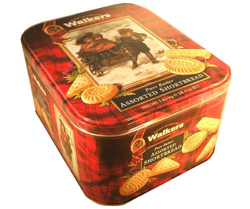 Walkers Scottish Pure Butter Assorted Shortbread
